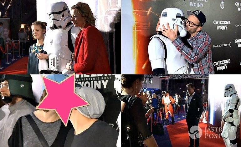 """Gwiazdy na premierze """"Gwiezdne Wojny: Przebudzenie mocy"""""""