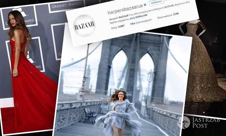 """10 najpopularniejszych zdjęć """"Harper's Bazaar"""" na Instagramie"""