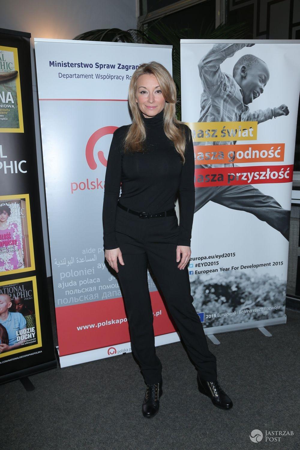 Chora Martyna Wojciechowska po raz pierwszy pokazała się publicznie fot. East News