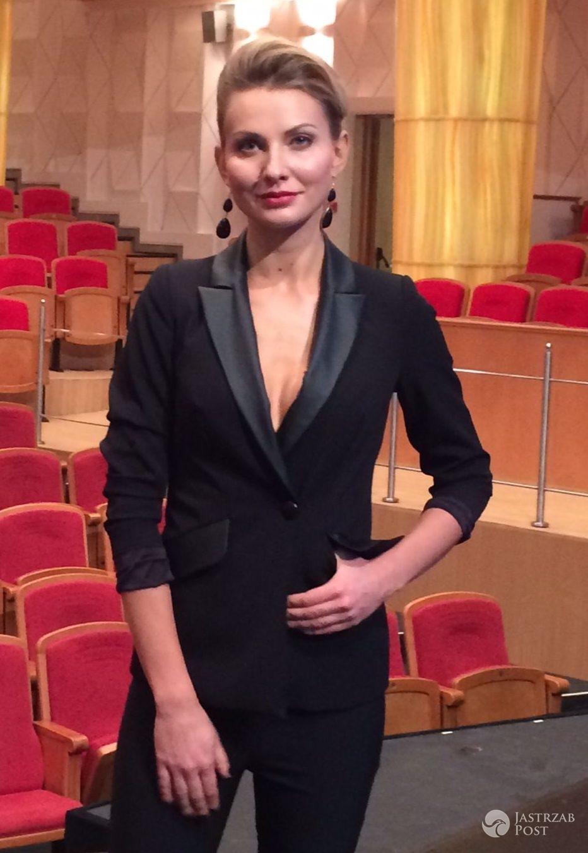 Gwiazdy w strojach Teresy Kopias: Joanna Moro (fot. mat. pras.)