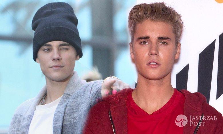 Justin Bieber ma lawendowe włosy