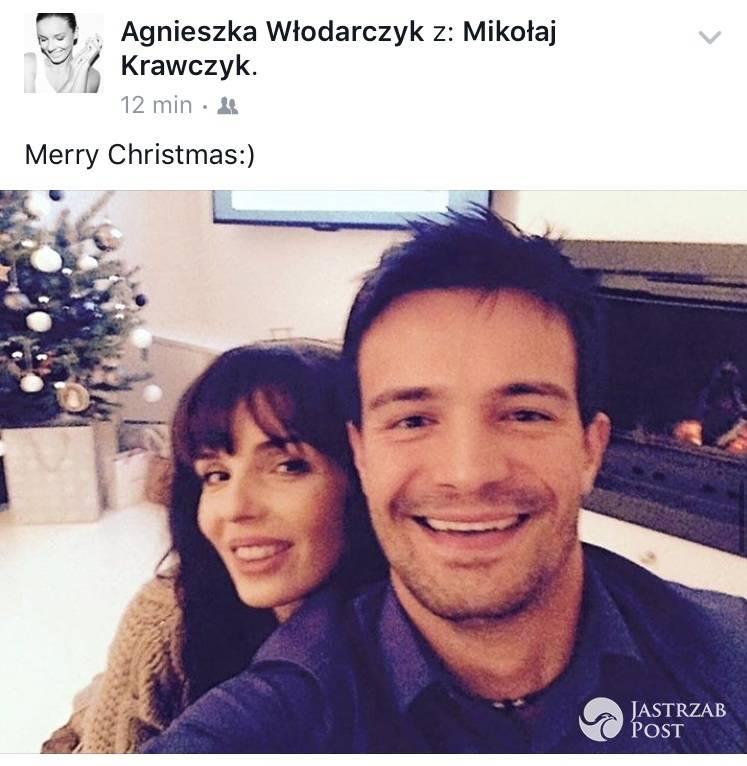 Wspólne święta Agnieszki Włodarczyk i Mikołaja Krawczyka