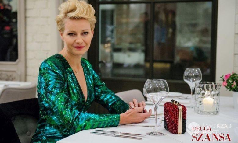 Druga szansa, Monika (Małgorzata Kożuchowska),fot: materiały prasowe