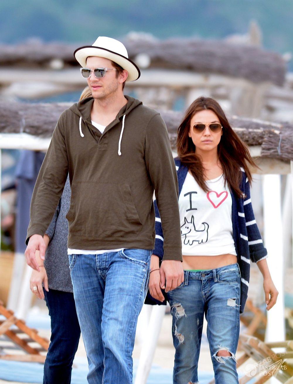 Mila Kunis i Ashton Kutcher wzięli ślub, fot. ONS