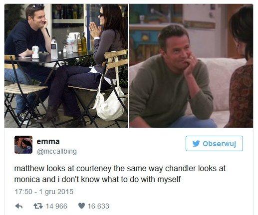 Courteney Cox i Matthew Perry mają romans?