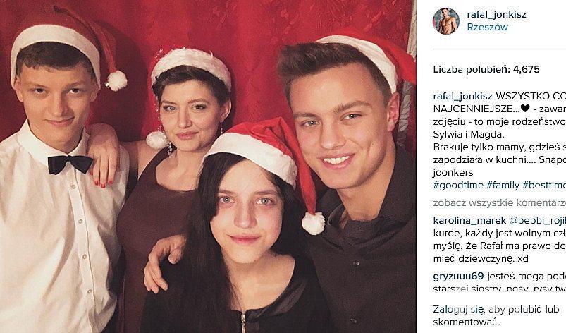 Rafał Jonkisz pokazał rodzeństwo na Instagramie
