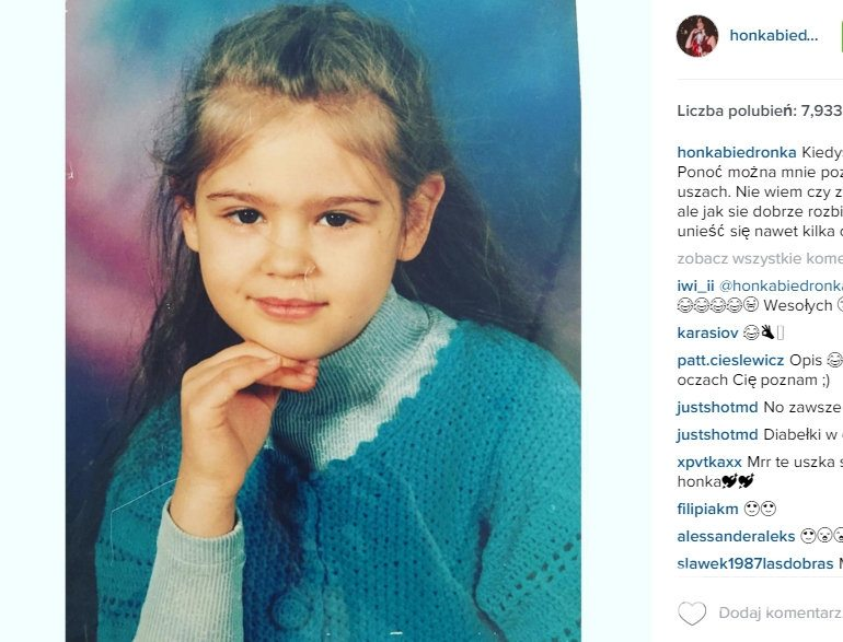 Honorata Skarbek Instagram