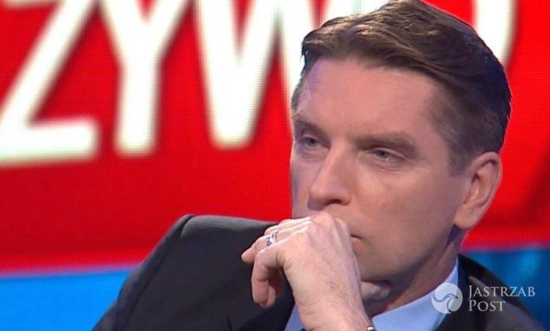 Tomasz Lis może pozostać na antenie. Czy TVP przedłuży z nim umowę? fot. screen z programu Tomasz Lis na żywo