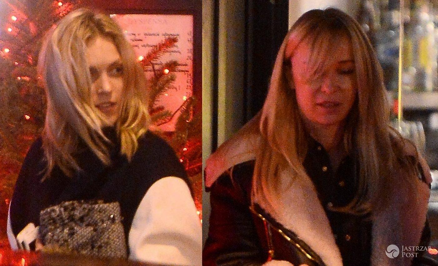 Anja Rubik spotkała się z Joanną Przetakiewicz w restauracji