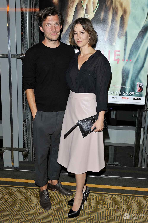 Michał Englert i Maja Ostaszewska (fot. AKPA)