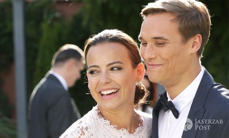 M jak miłość odcinek 1185, ślub Magdy (Anna Mucha) i Olka (Maurycy Popiel), fot: materiały prasowe MTL Maxfilm