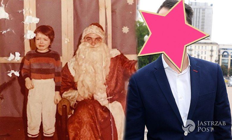 Filip Bobek na zdjęciu sprzed lat z Mikołajem