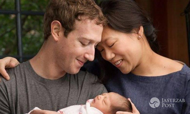 Mark Zuckerberg zabrał córkę na basen