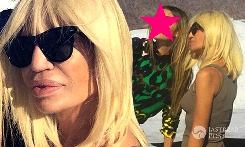 Donatella Versace na Instagramie