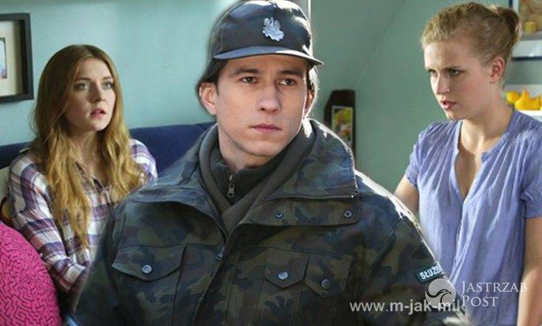 M jak miłość, Franek (Piotr Nerlewski), Ula (Iga Krefft), Natalka (Marcjanna Lelek)