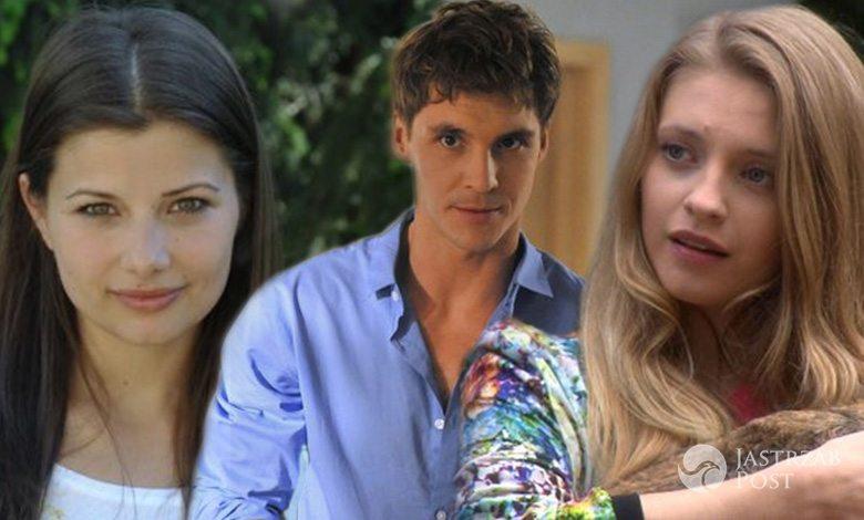 M jak miłość, Kasia (Agnieszka Sinekiewicz), Marcin (Mikołaj Roznerski),Kasia (Karolina Bacia)