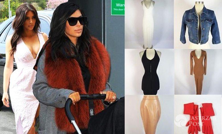 Kim Kardashian wystawiła swoje ciążowe ubrania na licytację