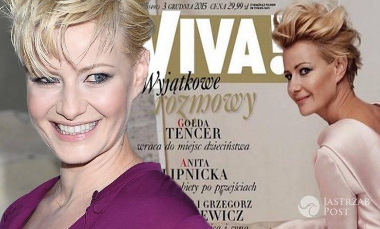 Małgorzata Kożuchowska na okładce świątecznego wydania magazynu