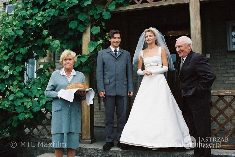 Ślub Hanki (Małgorzata Kożuchowska) i Marka (Kacper Ksuszewski) w M jak miłość
