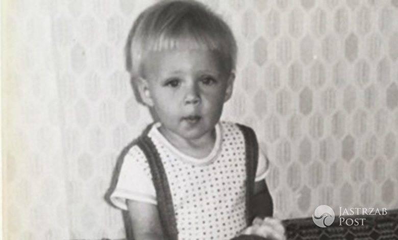 Maja Sablewska jako mała dziewczynka