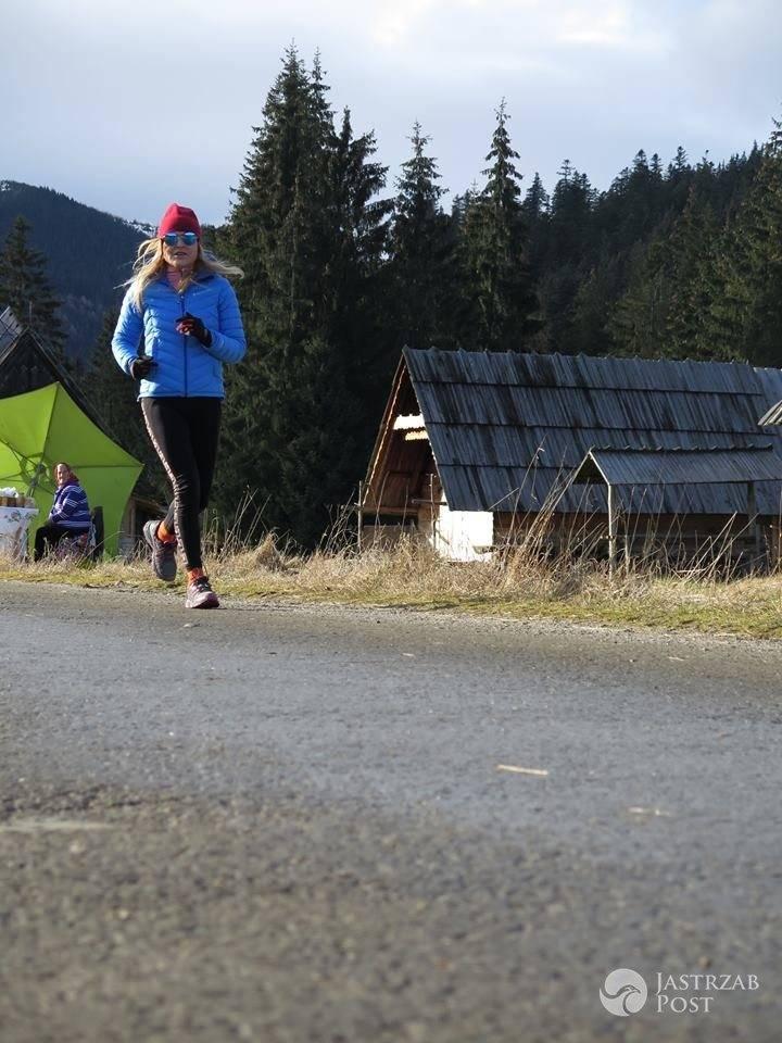 Monika Olejnik spędza święta w górach fot. Facebook.com