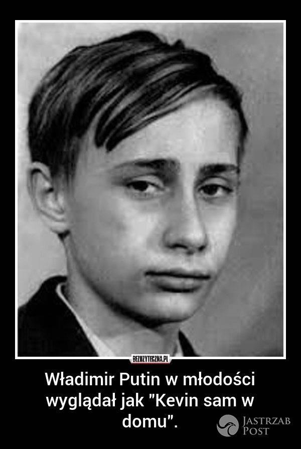Władimir Putin jak Kevin sam w domu?