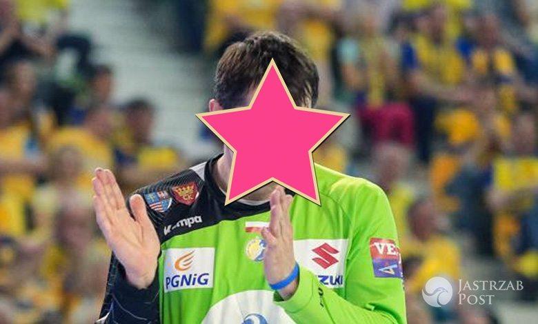 Sławomir Szmal jako sprzedawca w supermarkecie fot.Facebook.com
