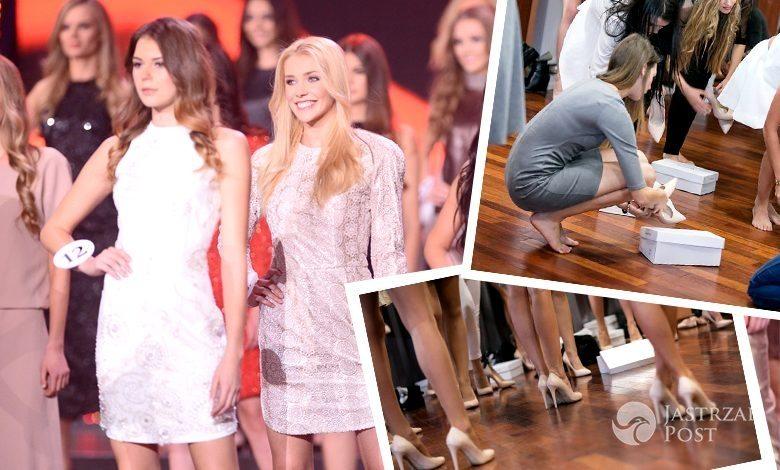 Kandydatki do tytułu Miss Polski 2015 w szpilkach nude Wojas