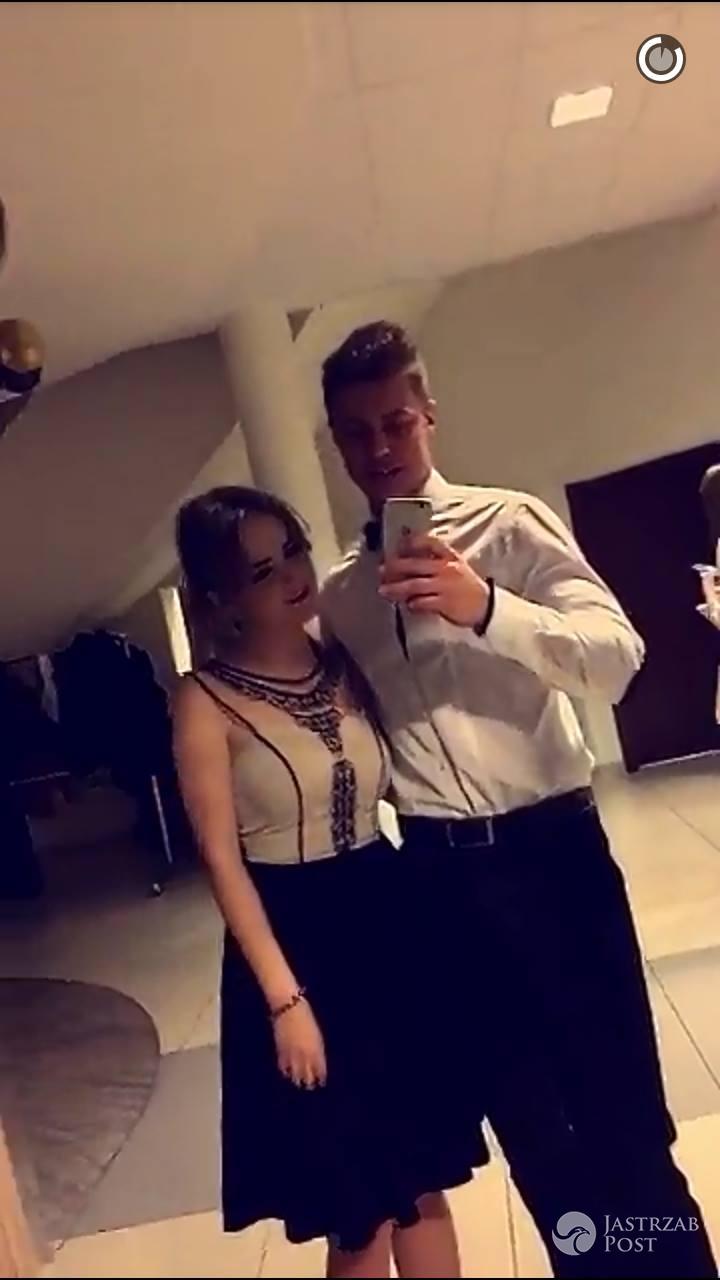 Rafał Jonkisz i Ewelina Grossman na studniówce