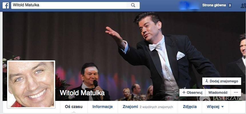 Fot. screen z Facebooka Witolda Matulki