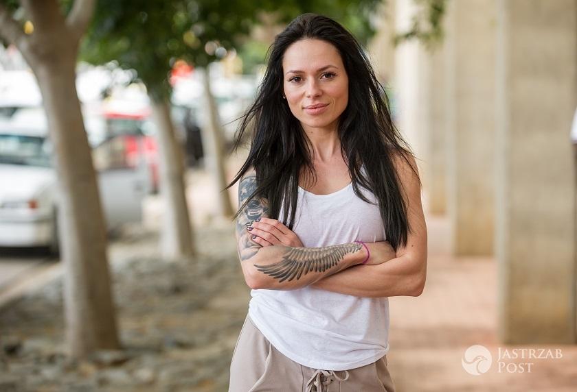 Sylwia Szostak na planie programu