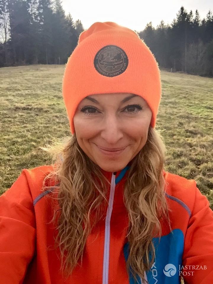 Martyna Wojciechowska biega w Beskidach