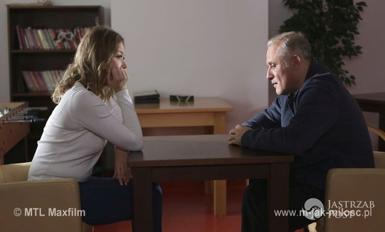 M jak miłość odcinek 1194, Anna (Tamara Ariuch), Rafał (Przemysław Bluszcz)