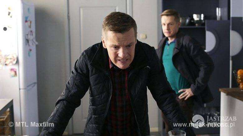 M jak miłość odcinek 1196, Piotrek (Marcin Mroczek), Paweł (Rafał Mroczek)