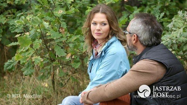 M jak miłość odcinek 1191, Anna (Tamara Ariuch), Adam (Jacek Kopczyński)