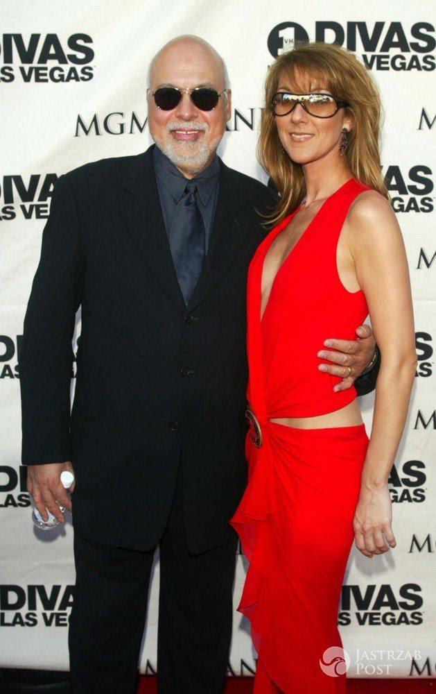 Celine Dion i Rene Angelil - 2002 r.