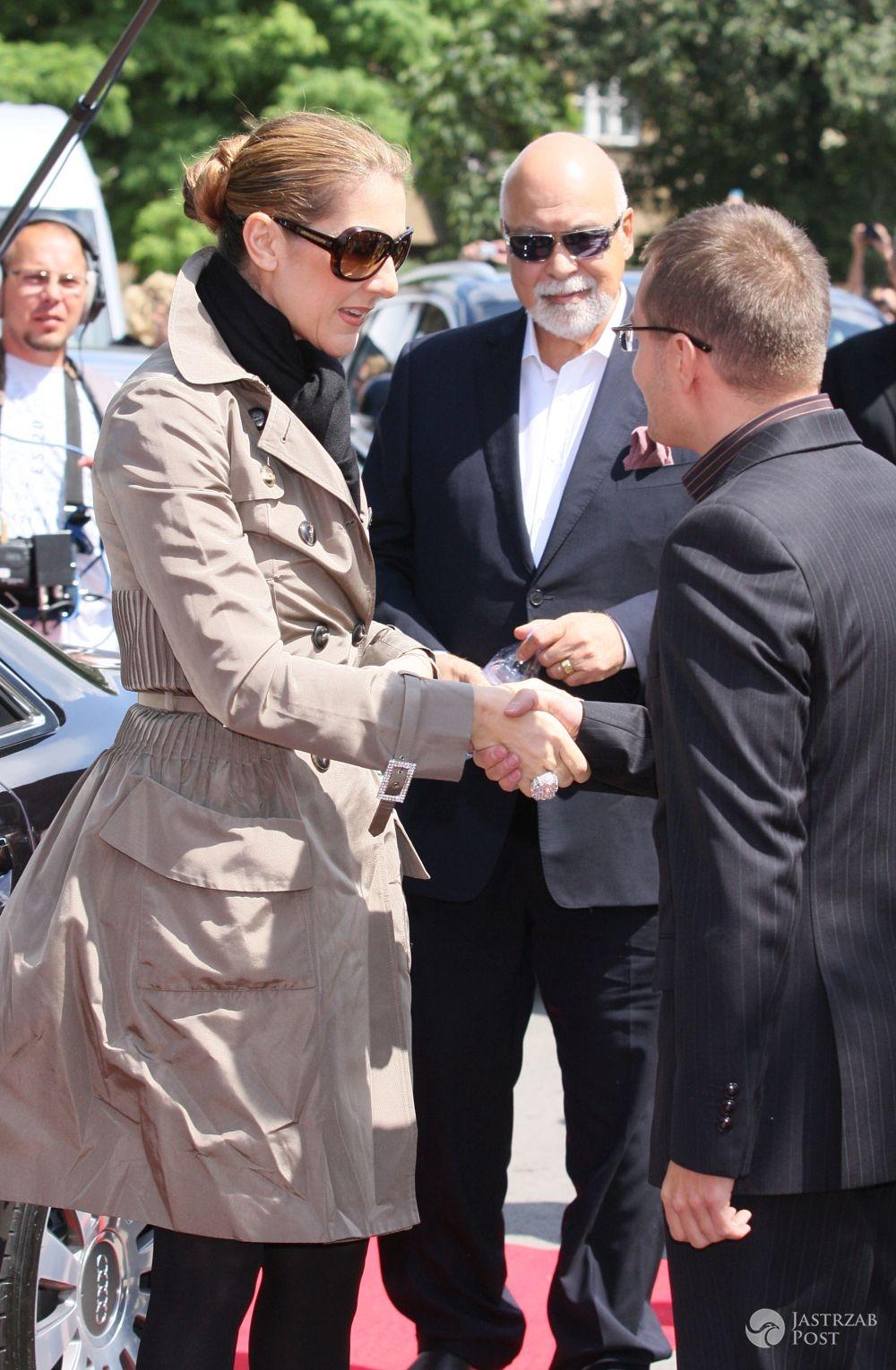 Rene Angelil, mąż Celine Dion nie żyje
