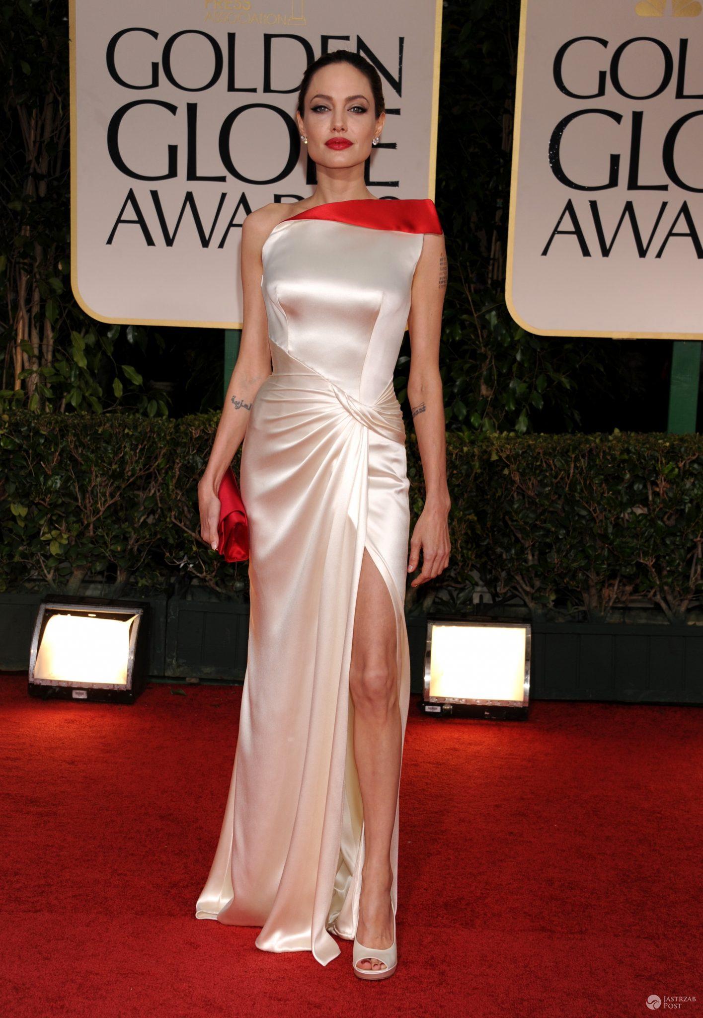 Angelina Jolie, Złote Globy 2012 (fot. ONS)