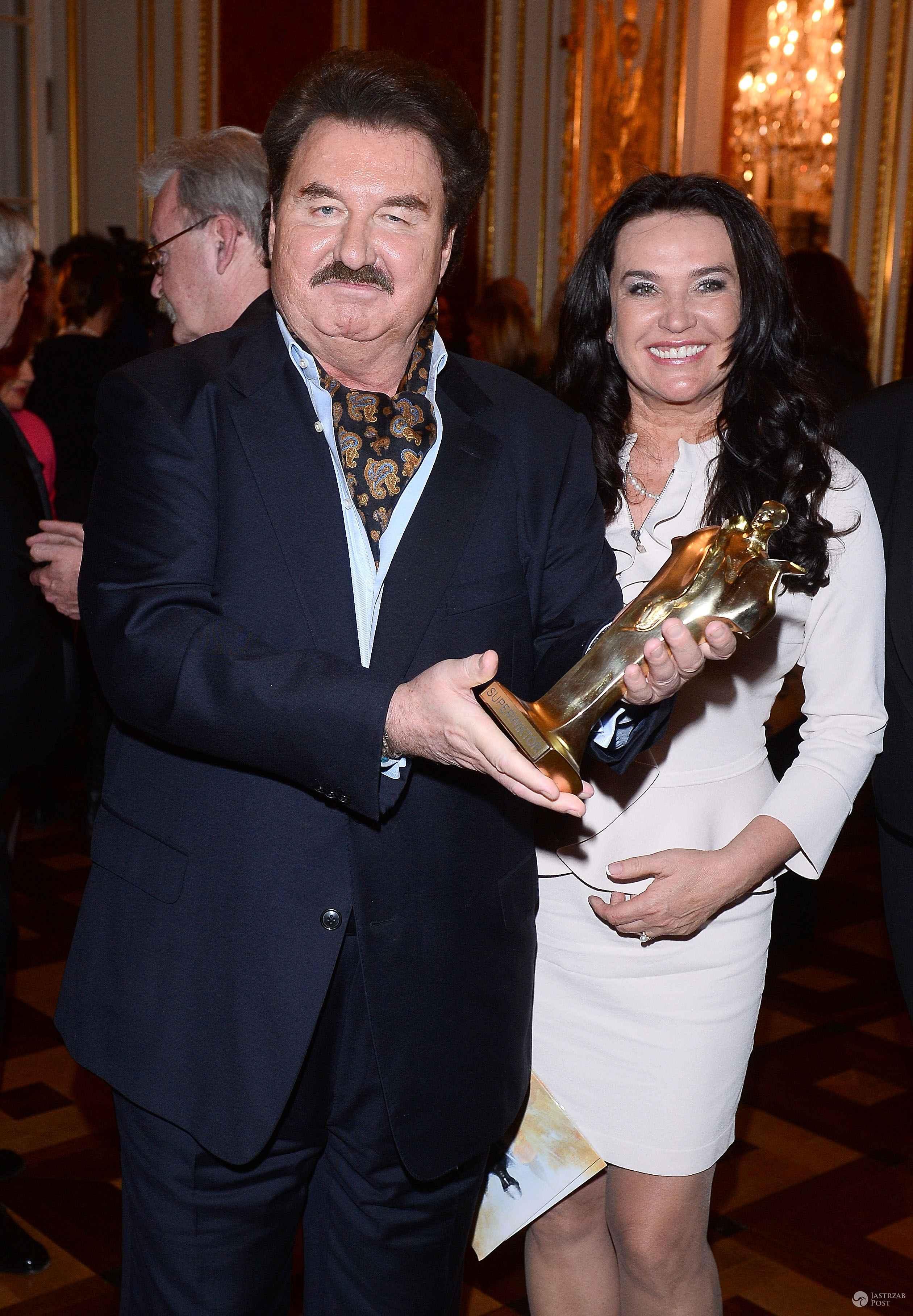 Krzysztof Krawczyk z obecną żoną, Ewą