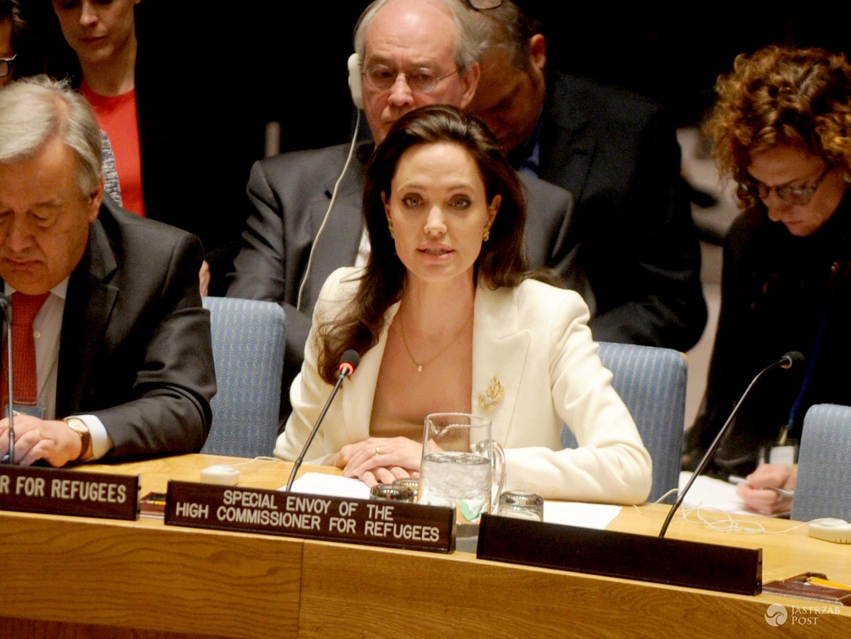 Angelina Jolie na konferencji ONZ