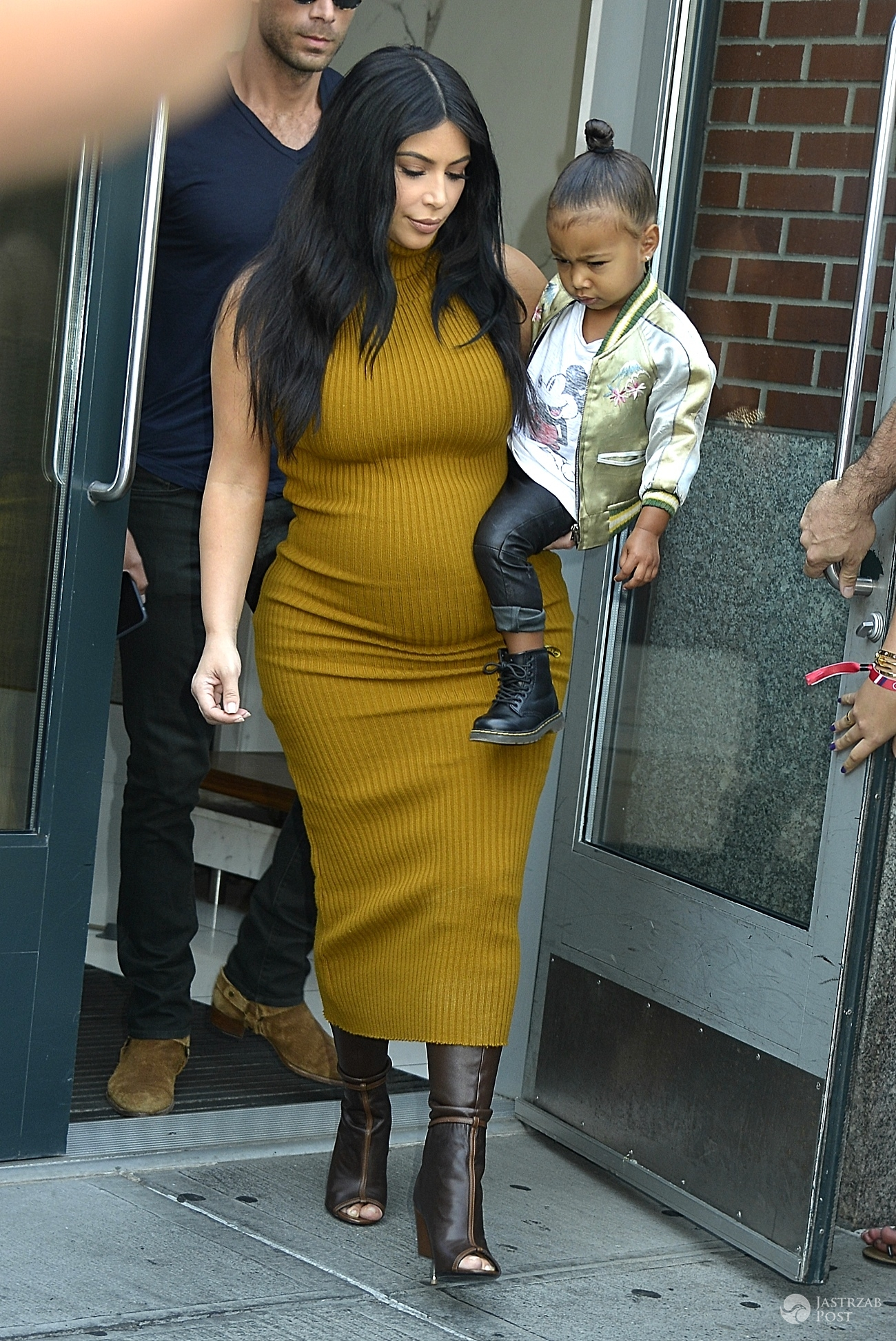 NEW YORK, NY - SEPTEMBER 9: Kim kardashian, north west seen in New York City on September 9, 2015. Photo Credit: Mpi67/MediaPunch