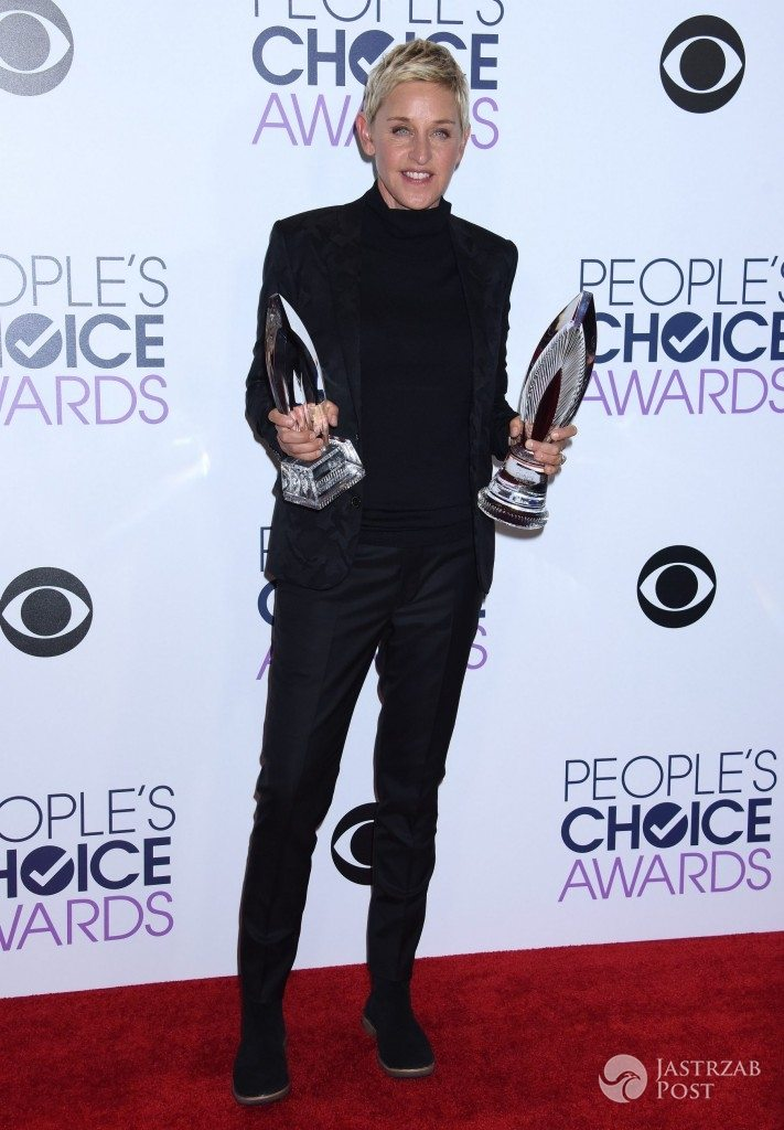 Ellen DeGeneres, People's Choice Awards 2016 (fot. ONS)