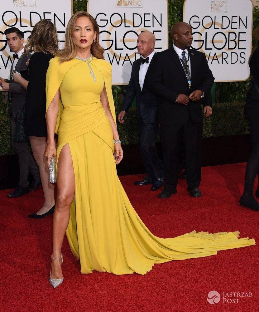 Jennifer Lopez - Złote Globy 2016