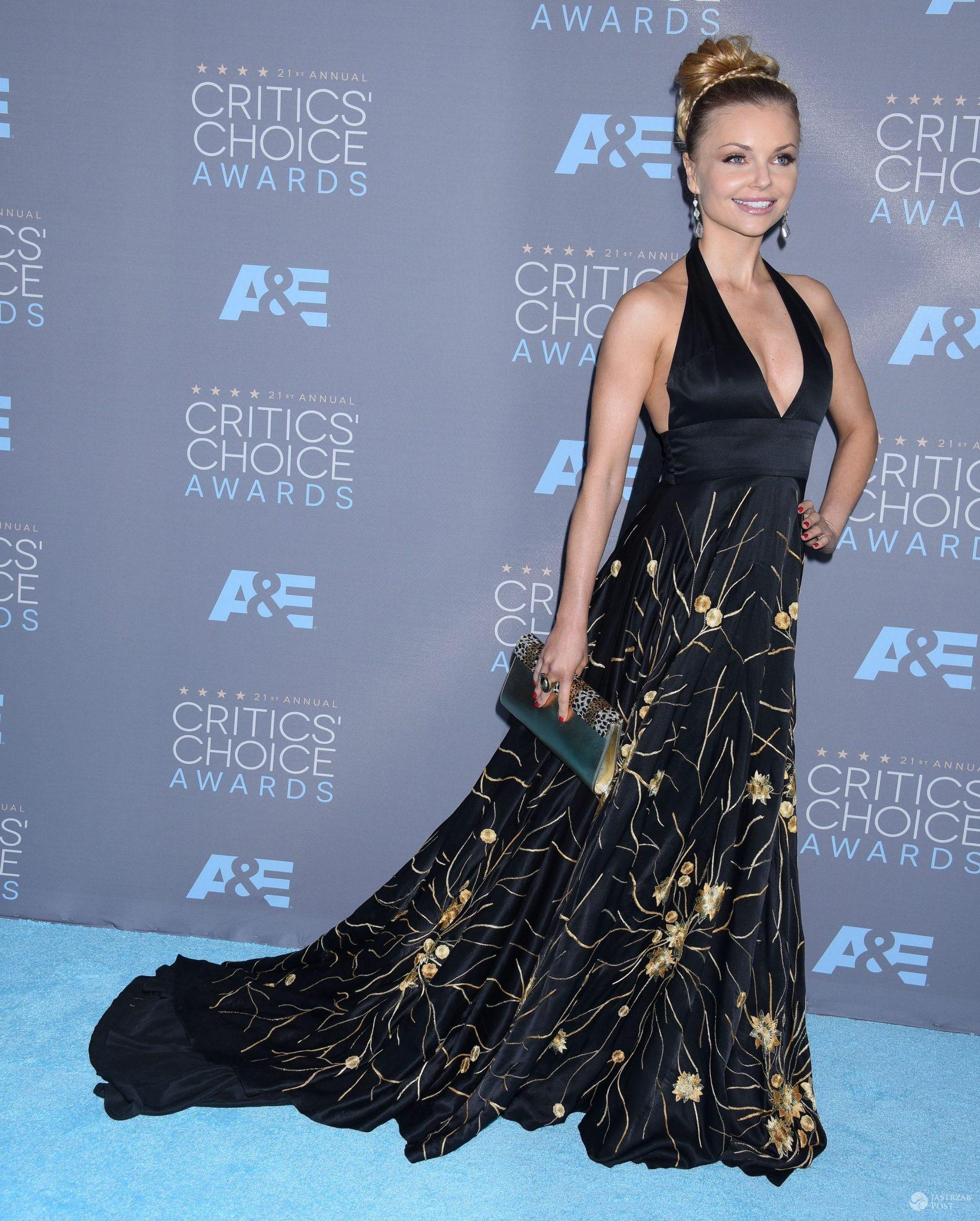 Izabella Miko, Critics' Choice Awards 2016 (fot. ONS)