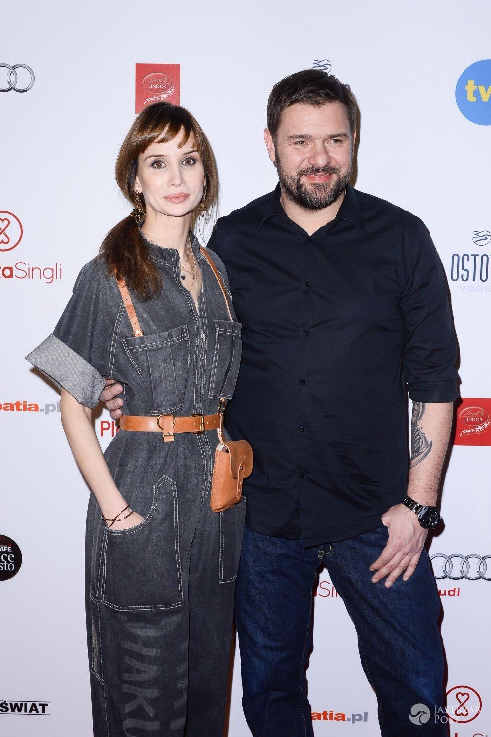 Viola Kołakowska i Tomasz Karolak