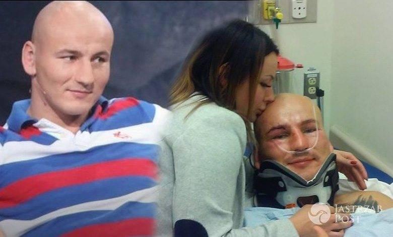 Artur Szpilka w szpitalu po walce z Wilderem