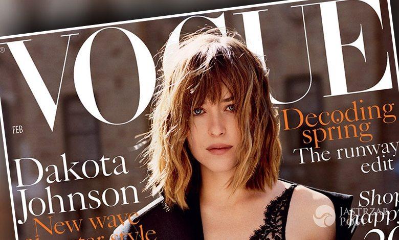 Dakota Johnson, Vogue UK (luty 2016) (fot. Alasdair McLellan/Vogue)