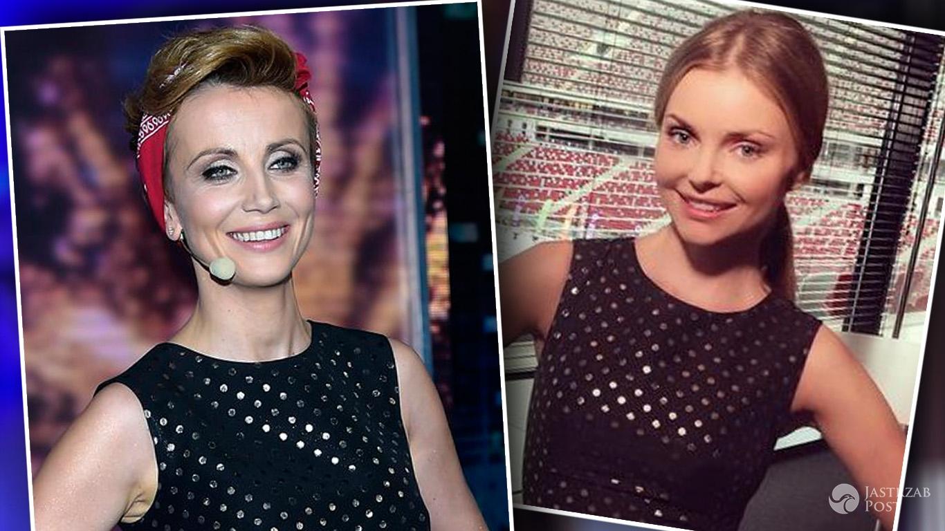Kasia Zielińska i Iza Miko w sukienkach Emente