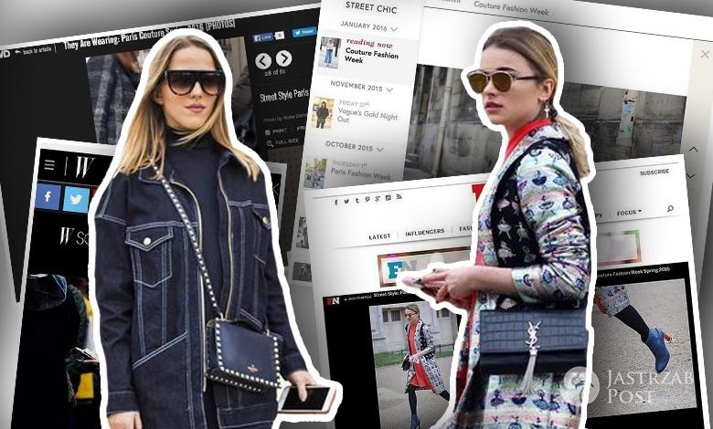 Jessica Mercedes i Maffashion, tydzień mody w Paryżu (fot. Instagram)