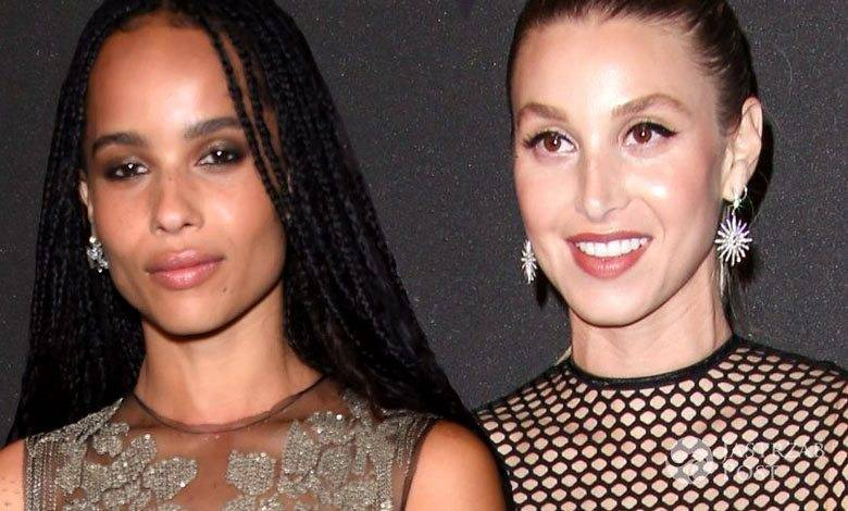 Zoe Kravitz i Whitney Port, after party Złote Globy 2016 (fot. ONS)